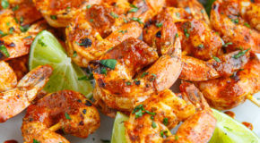 Taco Lime Grilled Shrimp Recipe