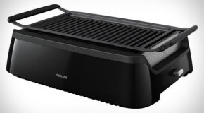 Take The BBQ Indoors with the Philips Smokeless Infrared Indoor Grill