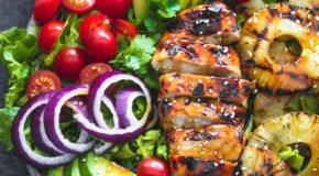 Grilled Teriyaki Chicken Salad Recipe