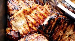 Honey Soy Grilled Pork Chops Recipe