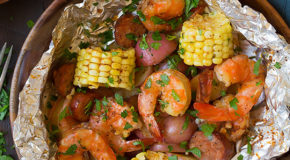 Grilled Shrimp Boil Packets Recipe