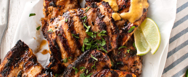 Coconut Marinated Grilled Chicken Recipe