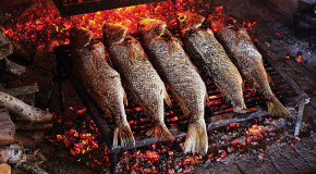 Whole Grilled Sea Bass Recipe