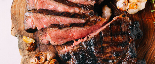 Grilled Ribeye With Soy Butter Glaze Recipe