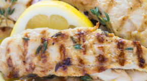Grilled Lemon Thyme Chicken Recipe