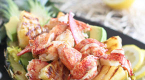 Grilled Pineapple Lobster Salad Recipe