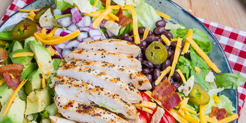 Recipe of the Week: Southwestern Grilled Chicken Jalapeno Popper Salad