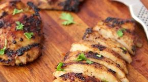 Mexican Honey-Lime Grilled Chicken Recipe