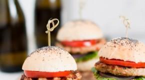 Grilled Lemongrass Chicken Burgers Recipe