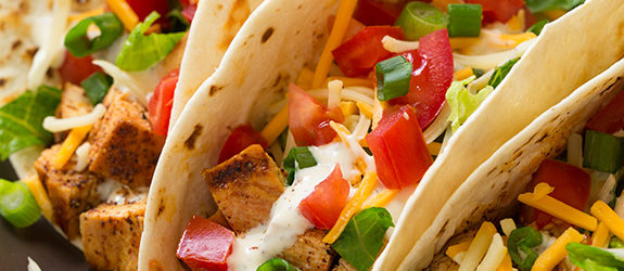 Grilled Chicken Tacos with Cilantro Lime Ranch Recipe