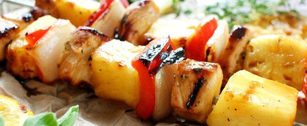 Caribbean Citrus Habanero Chicken Skewers Recipe
