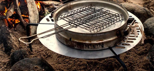 The Spare Tire BBQ Grate