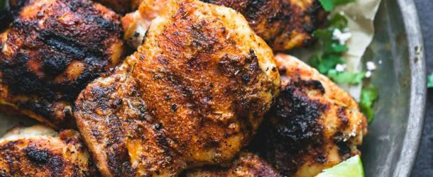 Grilled Cajun Lime Chicken Recipe