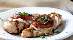 Grilled Caprese Chicken Recipe
