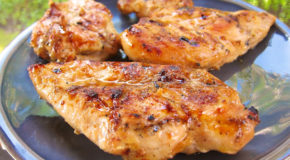 Sweet & Tangy Grilled Chicken Recipe