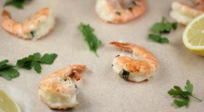 Grilled Mozzarella Stuffed Shrimp Recipe