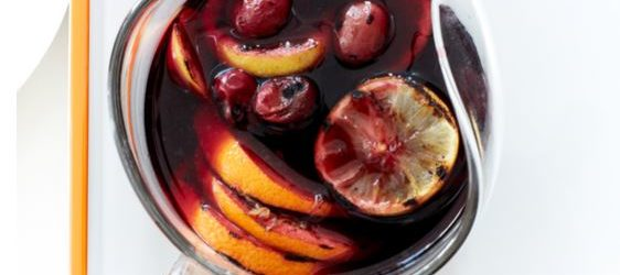 Grilled Citrus and Grape Sangria Recipe