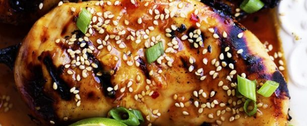 Grilled Sweet Chili Lime Chicken Recipe