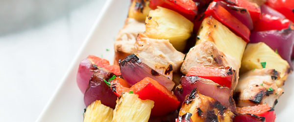 Grilled Pineapple Chicken Recipe