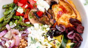 Grilled Vegetable Bowl with Farro Recipe