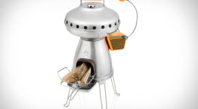 The Biolite PizzaDome Allows You To Grill Pizza While Camping