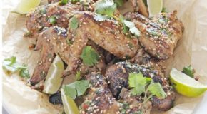 Spicy Grilled Thai Chicken Wings Recipe