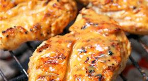 Maple Mustard Grilled Chicken Recipe
