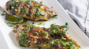 Grilled Chicken Chimichurri Recipe