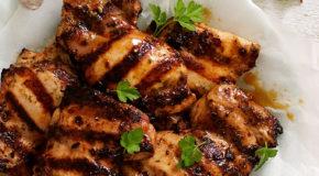 Italian Marinated Grilled Chicken with Zucchini Recipe