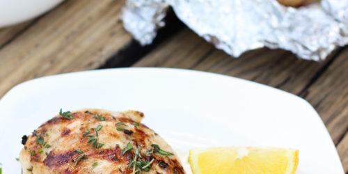 Lemon Herb Grilled Chicken Breasts Recipe