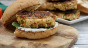 Grilled Shrimp Burgers Recipe