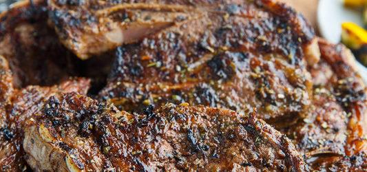 Greek Style Grilled Lamb Chops Recipe