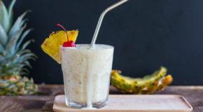 Grilled Pineapple Milkshake Recipe